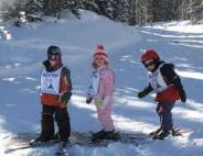 kids skiing wolf creek