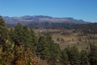 Echo canyon ranch landscape