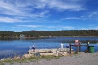 Lake Pagosa Park pier