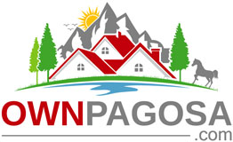 own pagosa springs real estate logo