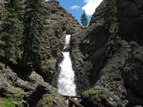 piedra falls near pagosa springs