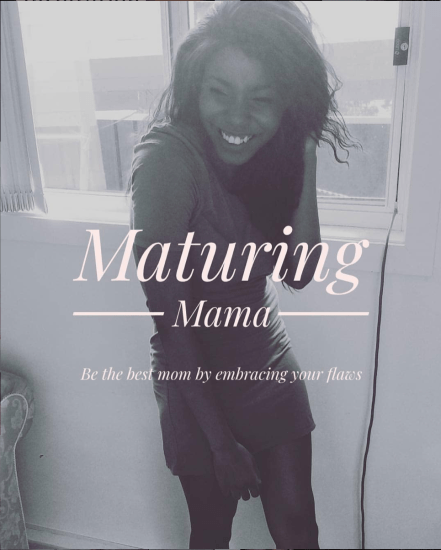 Image of Chanelle Holder of Maturing Mama blog.