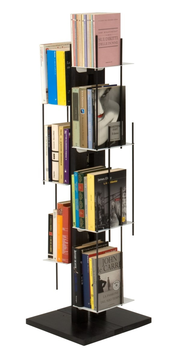 Le zie di Milano Veronica Bookcase Self Standing black