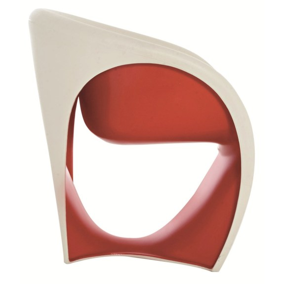 driade mt1 armchair red