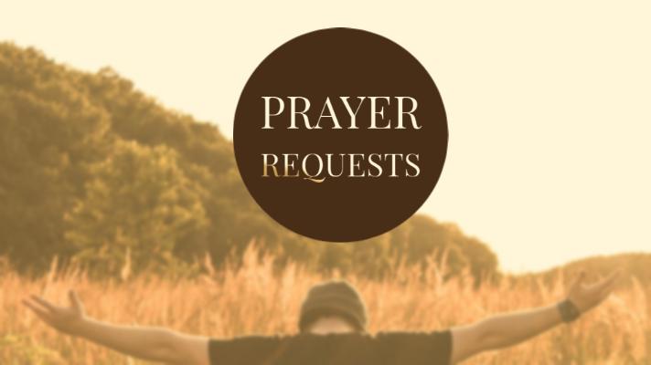 Prayer Reqeust