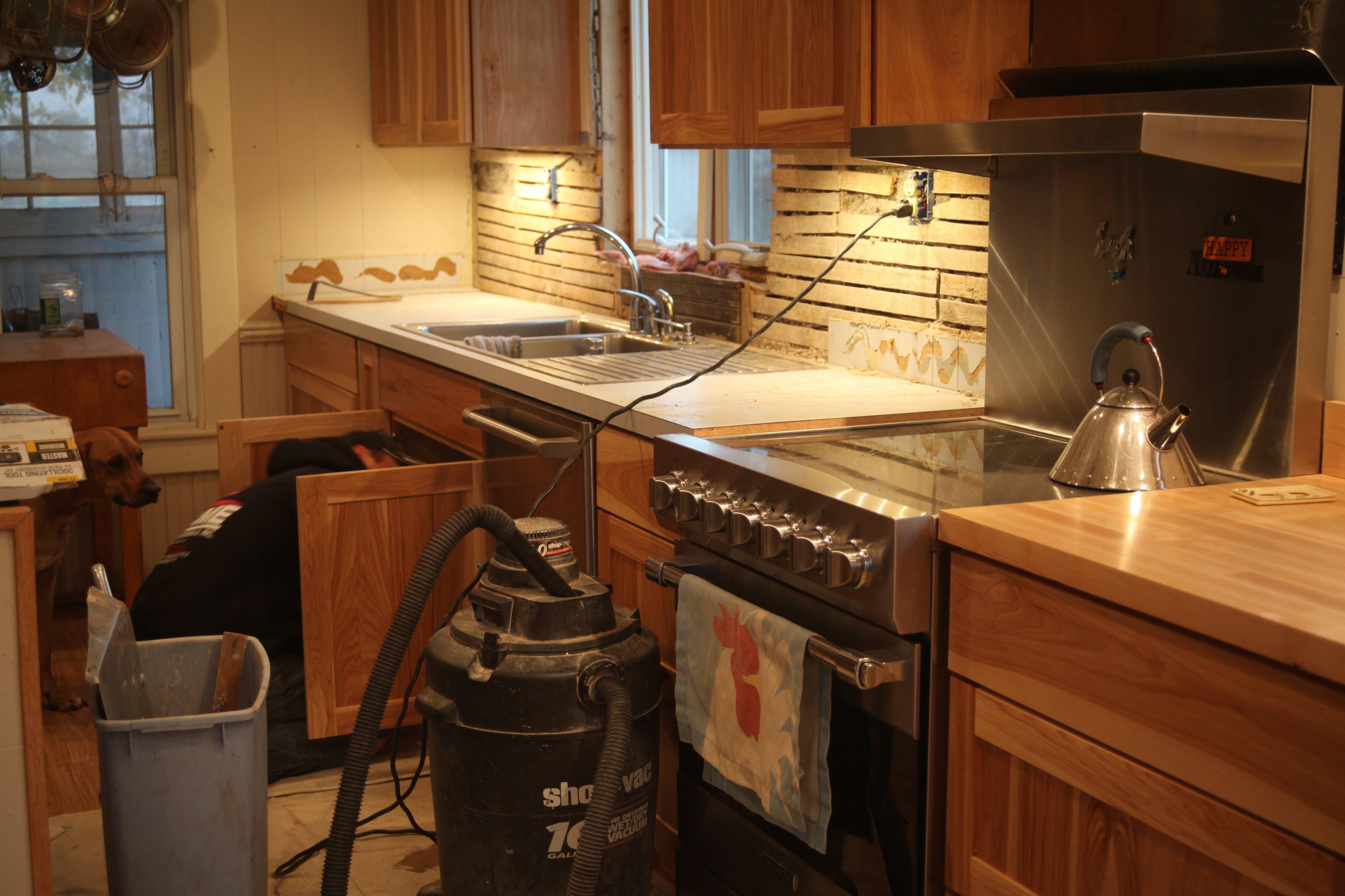 the work of kitchen #2