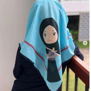 Hijab Full Print Bandung