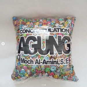 Bantal Full Print