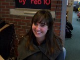 """Only good things happen to me on Valentine's Day."" -Haley Hessler, '12"