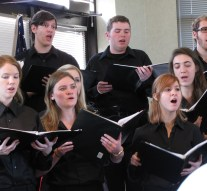 Chamber choir is singing its way to Italy