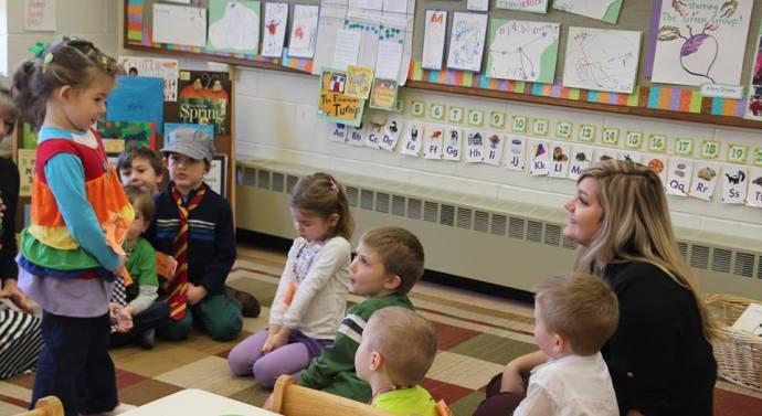 Students as teachers create lasting memories at the ECC