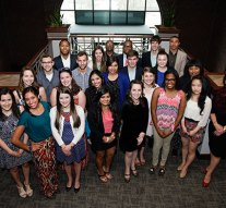 Honoring golden students and staff for service and leadership