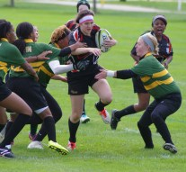 Women's rugby takes the field
