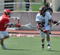 Men's lacrosse takes on opposition and weather