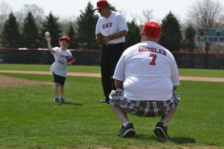 Some members of the Missler family play ball. Photo courtesy of Spenser Hickey.