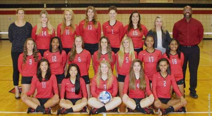 Bishops dominate in volleyball invitational