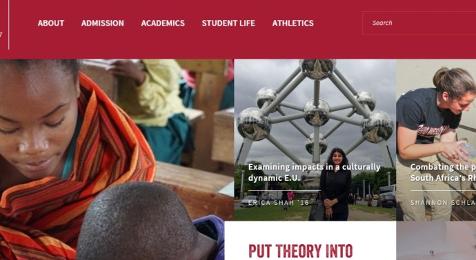 The new OWU website is here