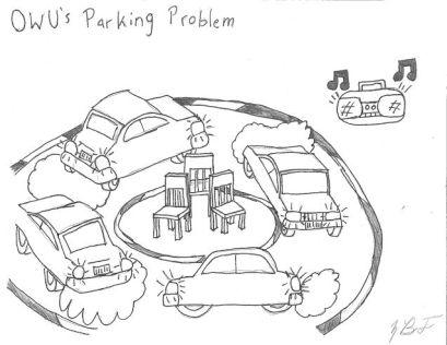 OWU's Parking Problem by Blake Fajack '16.