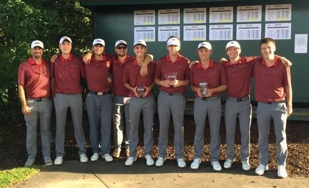 Men's golf wins Gatorade Collegiate