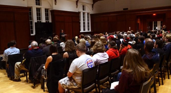 Poet visits Merrick Hall