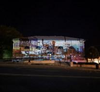 Ross Art Museum features first outdoor video exhibit
