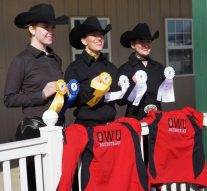 Equestrian team returns to competition