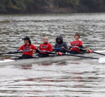 Rowing team makes their debut