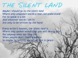 the silent land + text 2