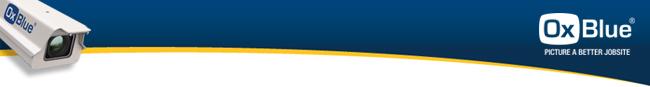 OxBlue Email Header