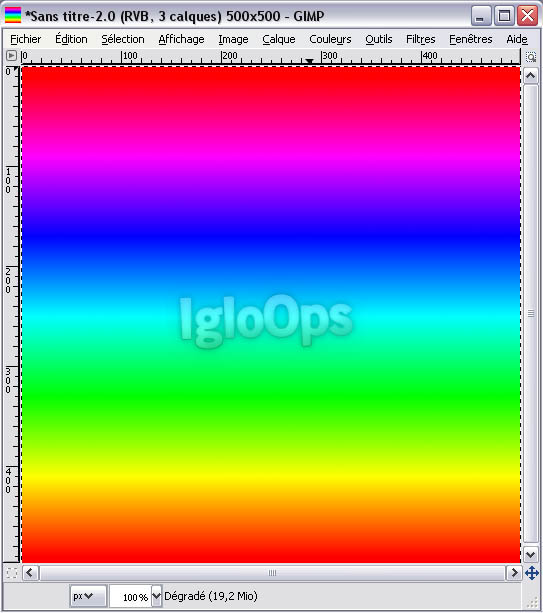 11 [TUTO][GIMP] Faire un fond Strip Color