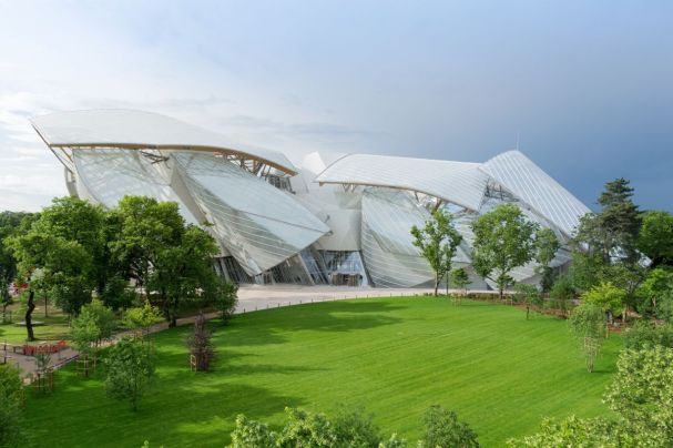photo courtesy of the FLV website, http://www.fondationlouisvuitton.fr/content/flvinternet/en.html