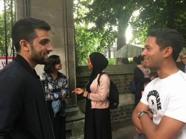 Socialising: Ramadan Tent Project