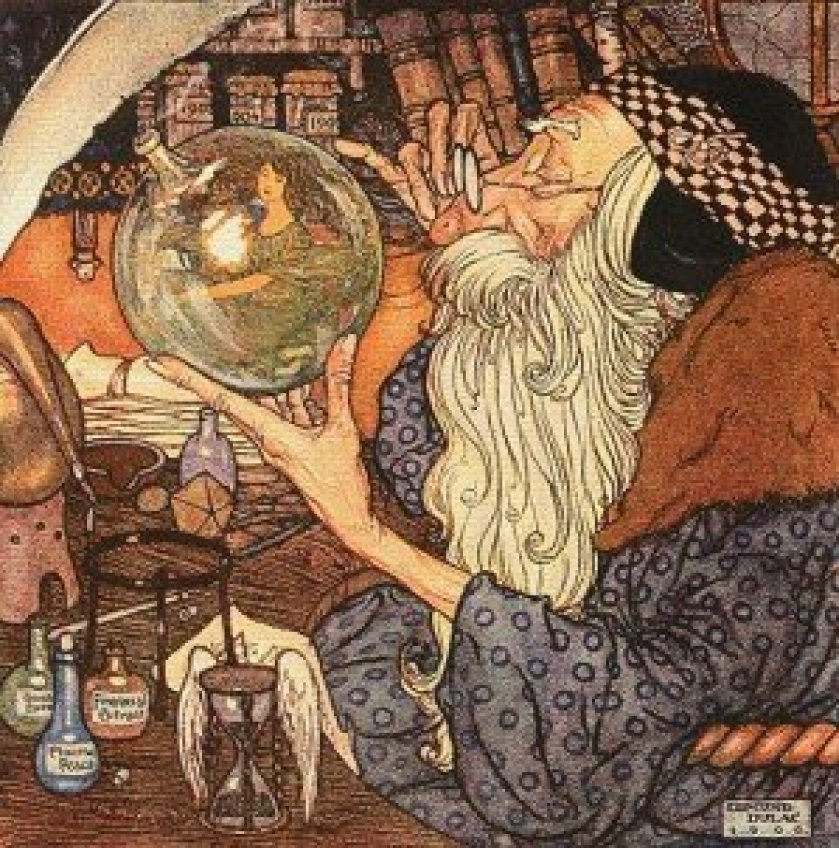 Edmund Dulac - Father Time