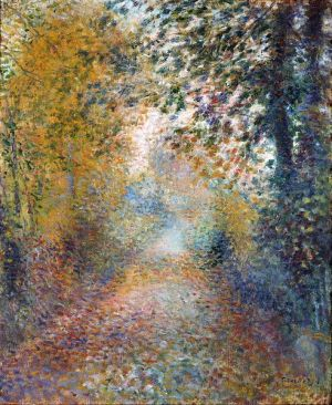 In the Woods -- Auguste Renoir