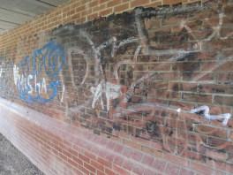 Elizabeth Jennings Way Bridge Graffiti 3