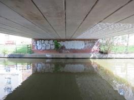 Elizabeth Jennings Way Bridge Graffiti 4