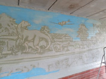 Oxford Canal Mural Painting Days (1)