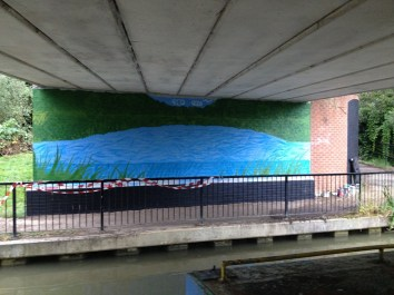 Oxford Canal Mural Painting Days (116)