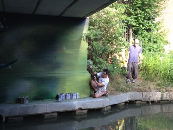 Oxford Canal Mural Painting Days (141)