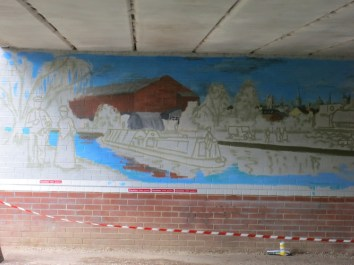 Oxford Canal Mural Painting Days (15)