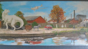 Oxford Canal Mural Painting Days (47)