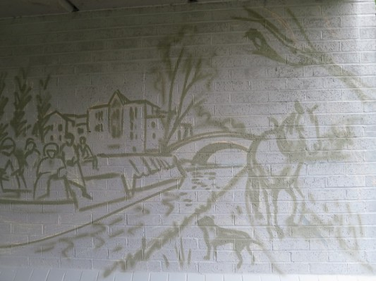 Oxford Canal Mural Painting Days (5)
