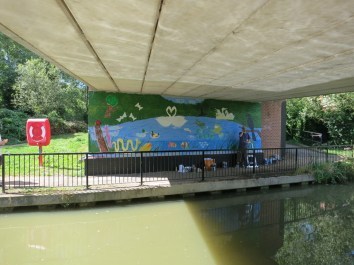 Oxford Canal Mural Painting Days (58)