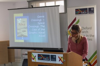Panel 4 - Ioanna Papaki - Genre Crossings – Space Crossings: The Case of The Graphic Novel Aivali