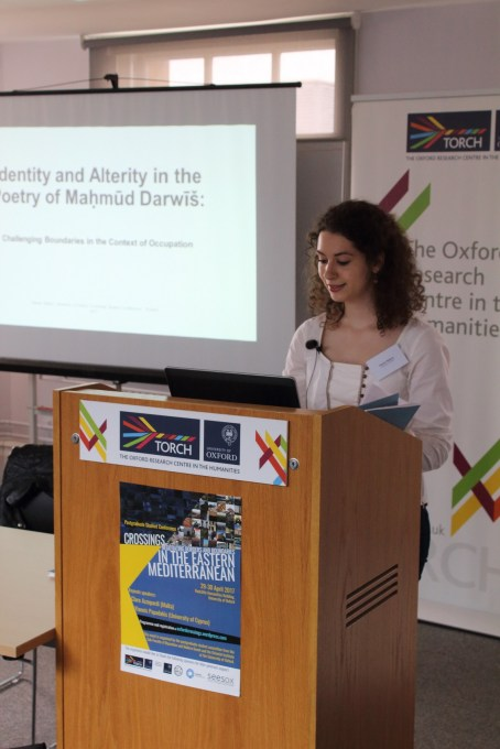Panel 5 - Hanan Natour - Identity and Alterity in the Poetry of Maḥmūd Darwīš: Challenging Boundaries in the Context of Occupation