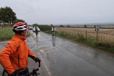 Wittenham Clumps - gloomy but not too wet