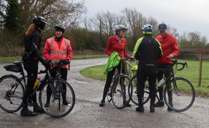 A pause for the puncture group to catch up