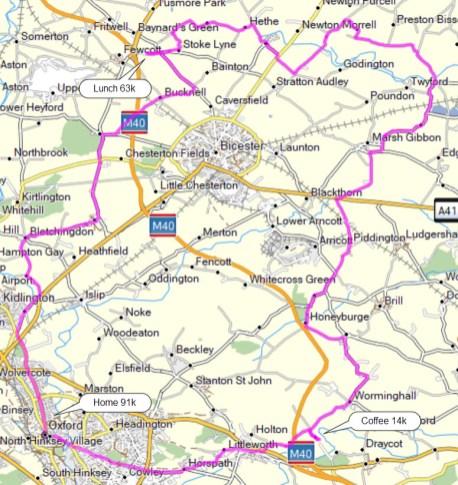 waterperry cherwell valley services 91k