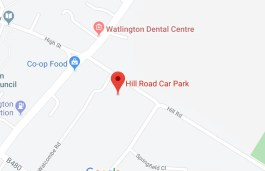 hill road car park