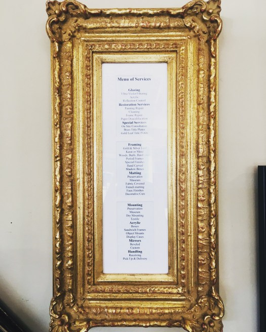Blog oxford hill frames rick understands this mindset it is why he started his business he has customers who want their art framed with the same high quality as museum pieces solutioingenieria Gallery